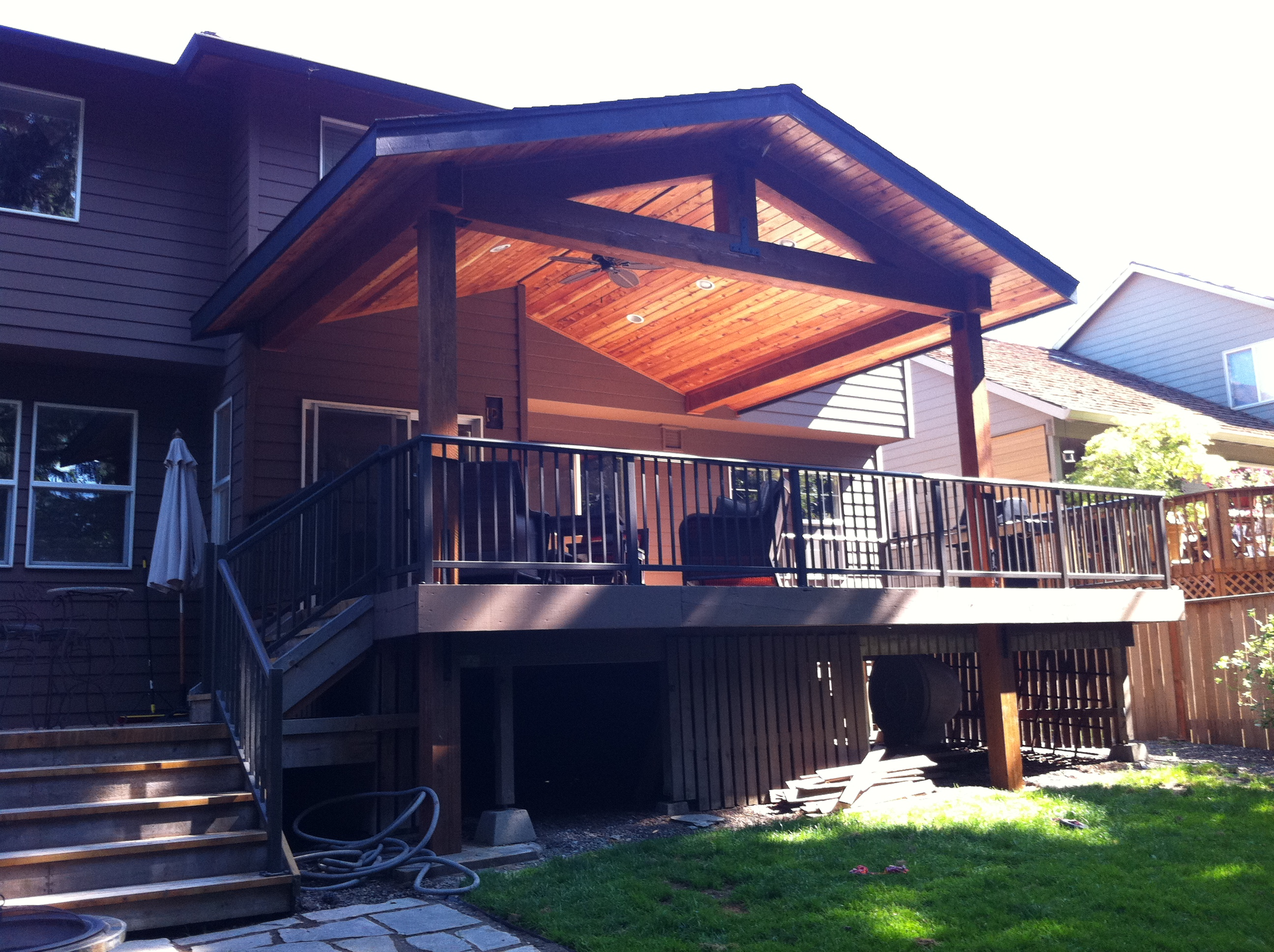 Timber Patio Cover Indy Construction Llc