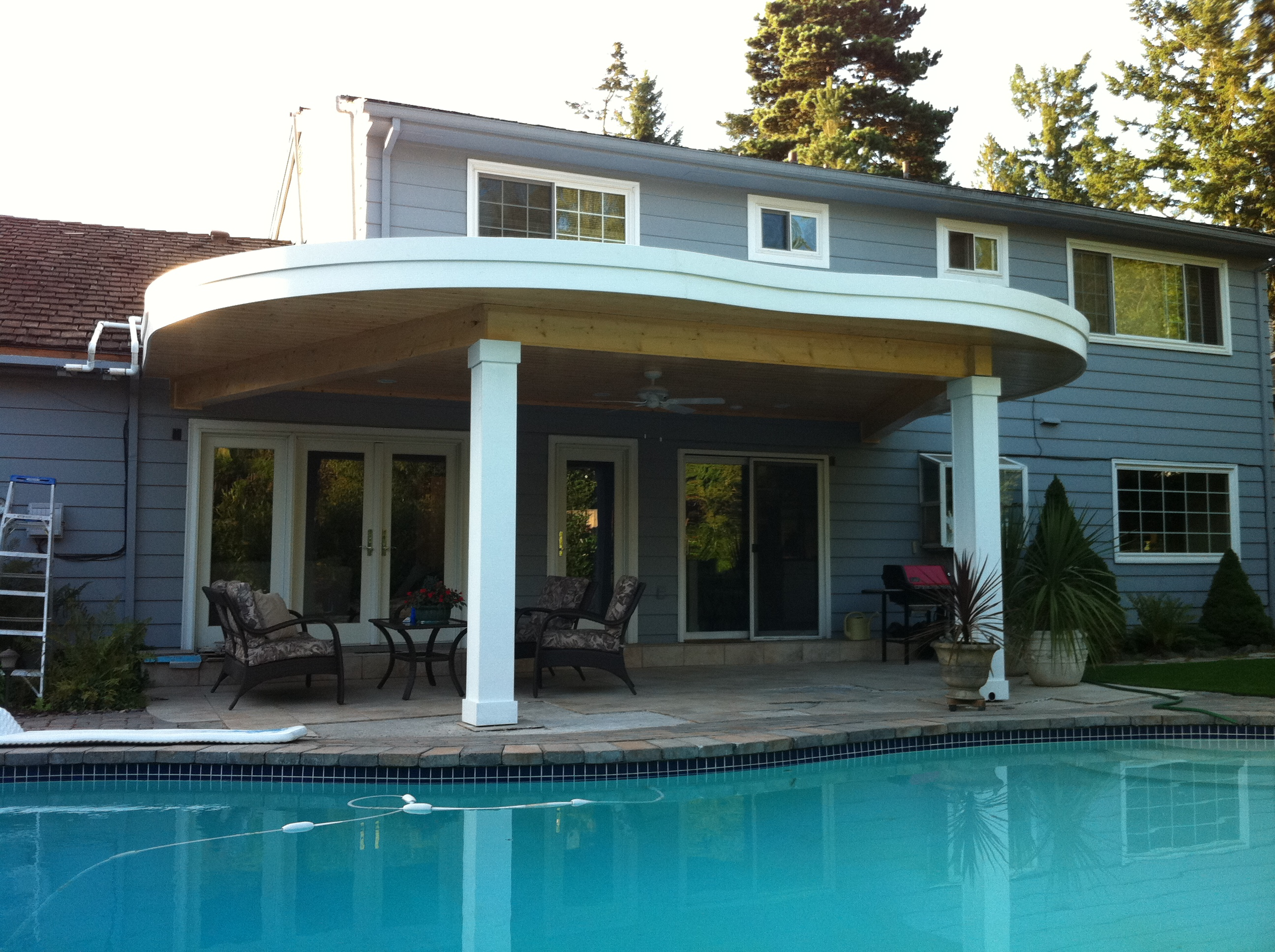 Round Roof Patio Cover